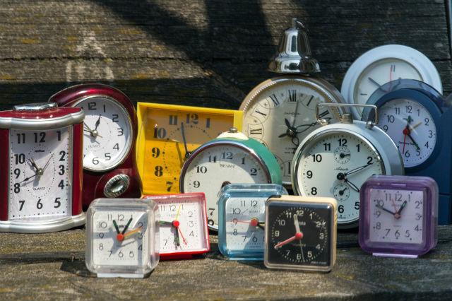 数々の時計たち