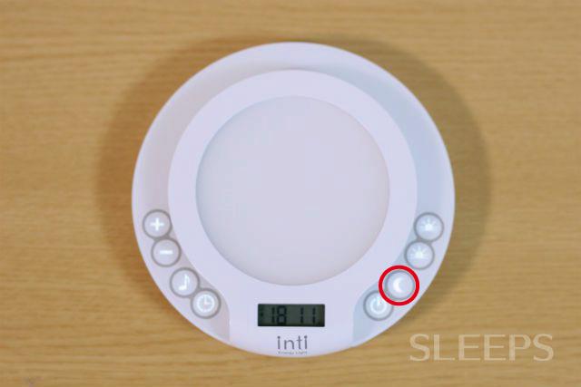 インティのリラックスモードボタン