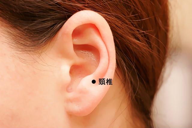 耳のツボ-頸椎