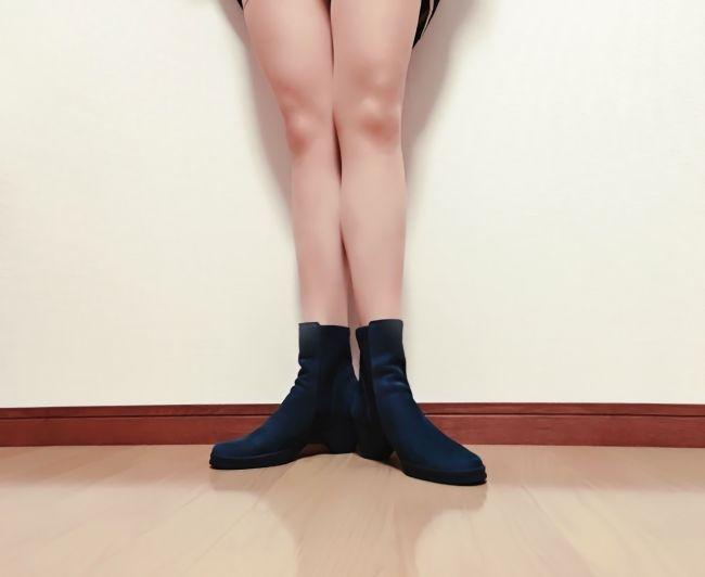 むくみが取れた足の画像