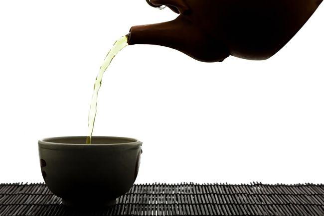テアニンが入ったお茶の画像