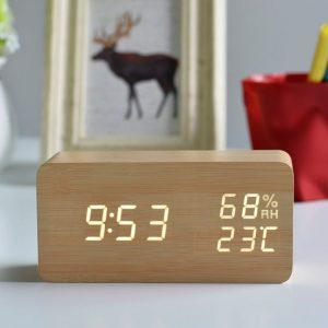 FiBiSonic デジタル置時計の画像