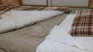 ニトリの寝具(布団)セットを買った時の画像