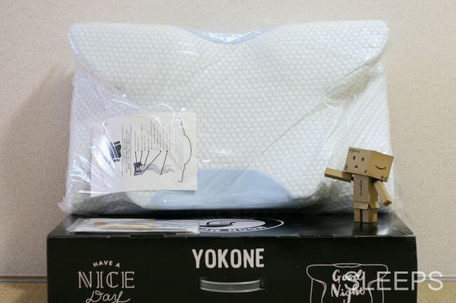YOKONE2(ヨコネ2)を箱から取り出した時の画像