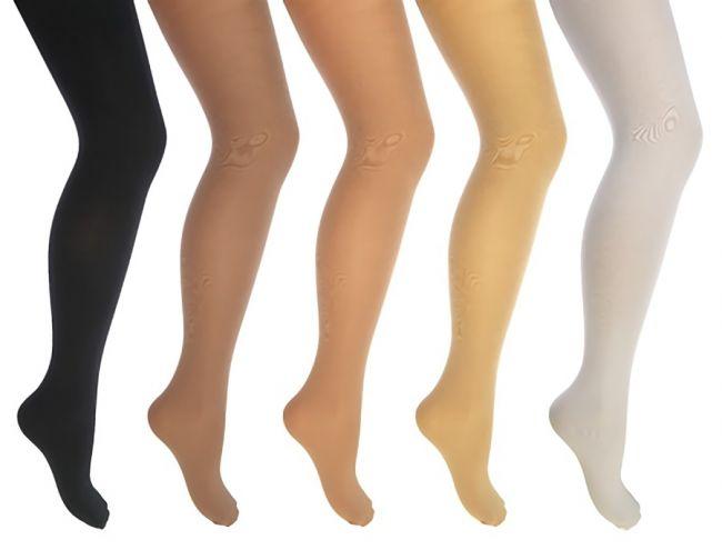着圧ソックスを履いた女性の脚(足)