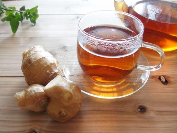 ショウガ紅茶の画像