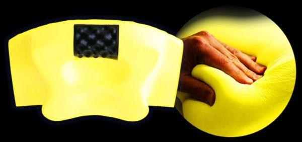 YOKONE3のリラックスウレタン素材の画像