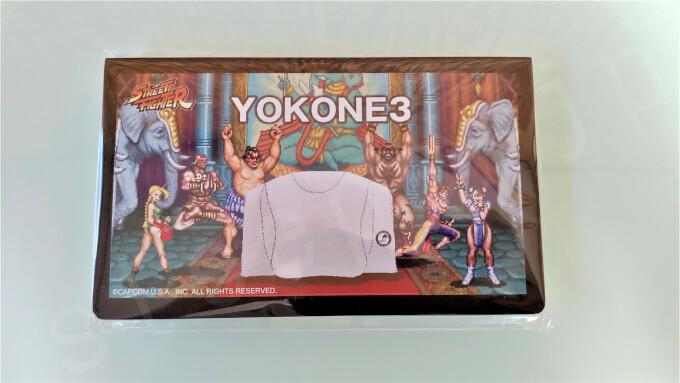 YOKONE3とストリートファイターⅡのコラボ特典の画像①